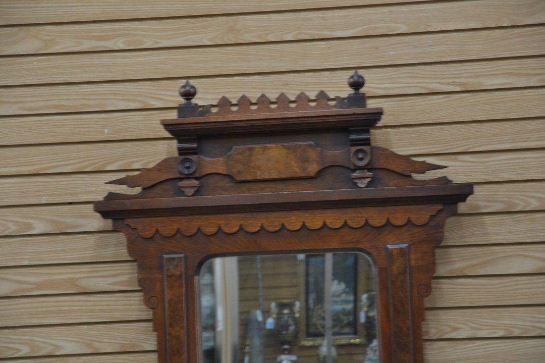 EASTLAKE VICTORIAN DEEP WELL MARBLE TOP DRESSER - 5