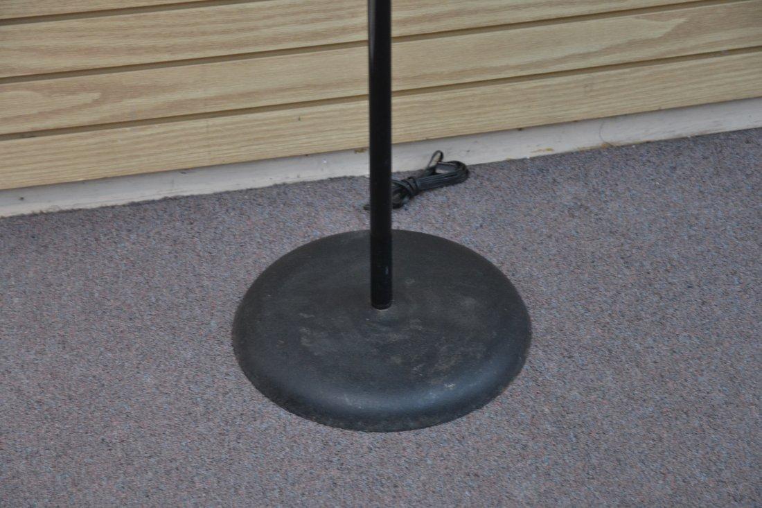MODERN 3- BRANCH ORBITER CHROME FLOOR LAMP - 4