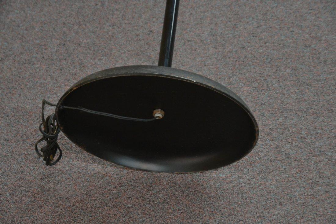 MODERN 3- BRANCH ORBITER CHROME FLOOR LAMP - 8