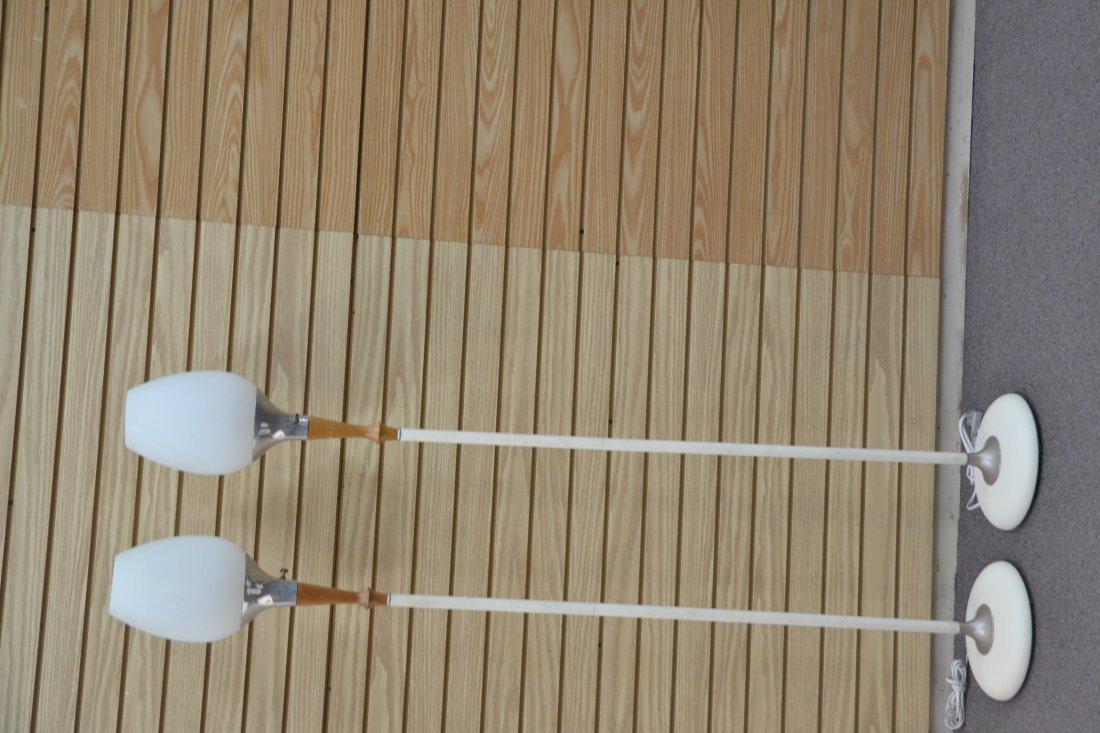 (Pr) LAUREL LAMP Co. MID CENTURY FLOOR LAMPS - 4