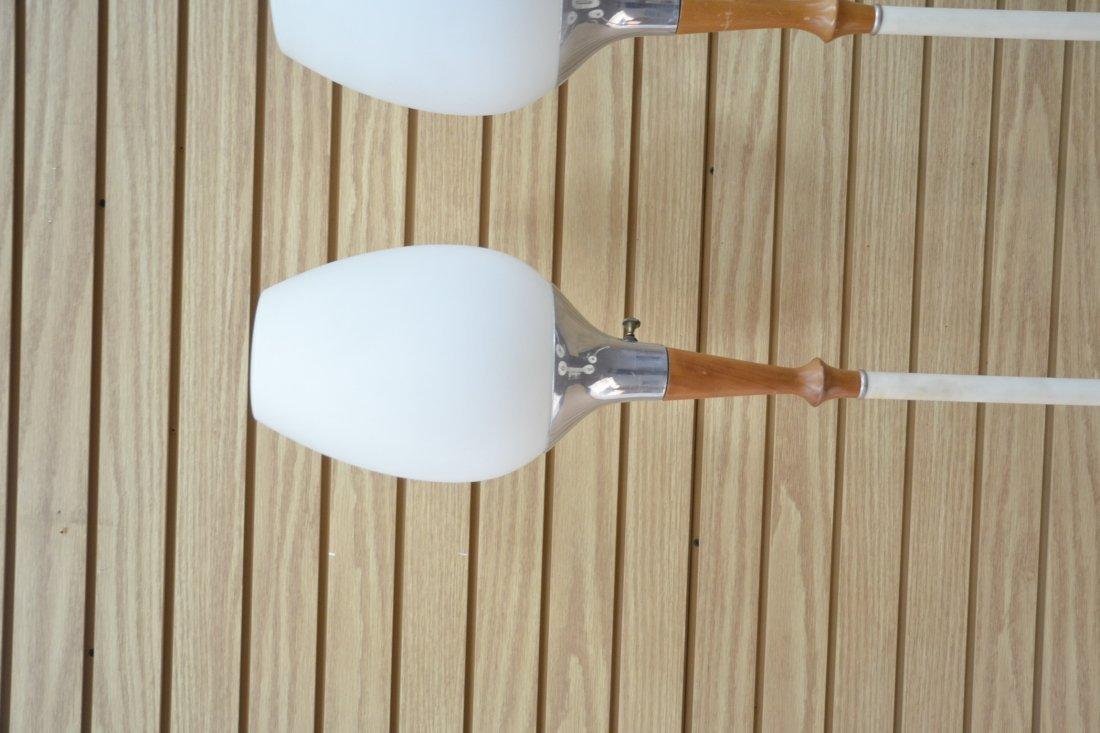 (Pr) LAUREL LAMP Co. MID CENTURY FLOOR LAMPS - 5