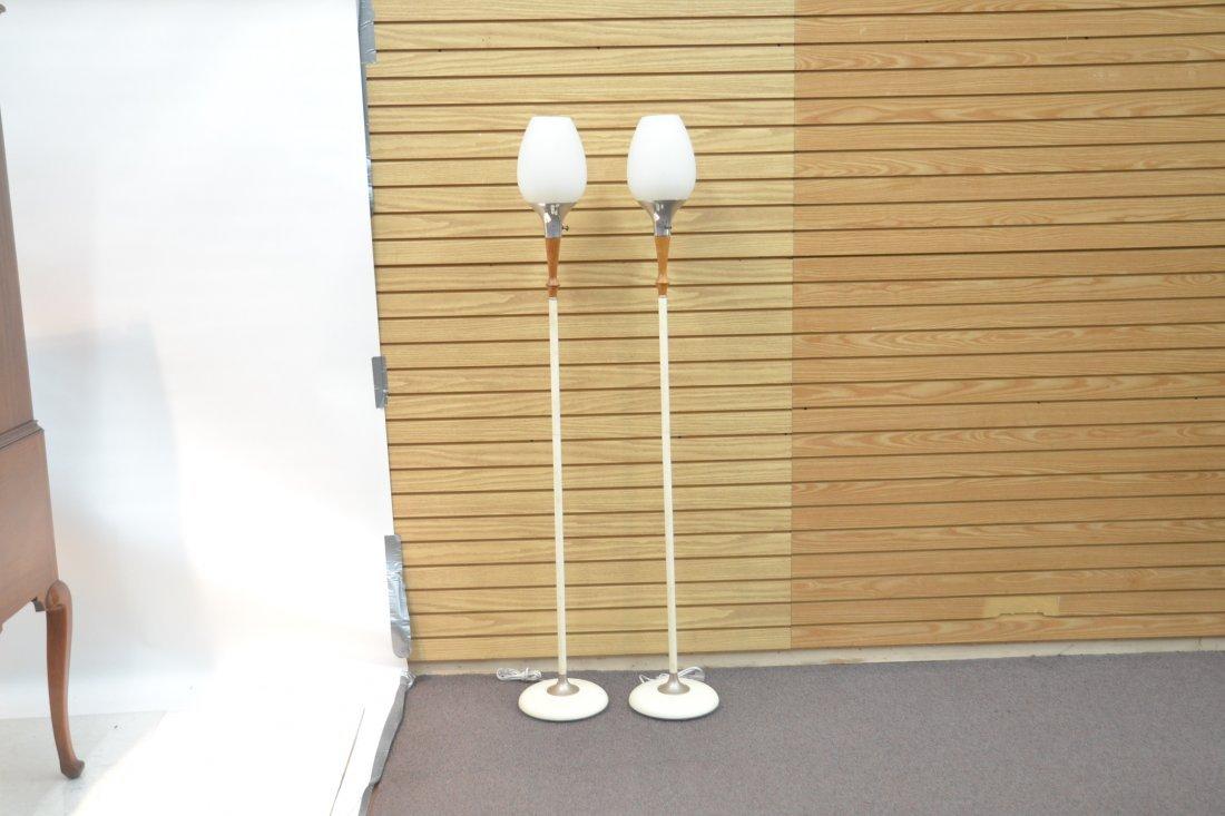 (Pr) LAUREL LAMP Co. MID CENTURY FLOOR LAMPS - 8