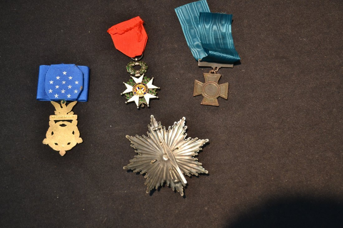 GERMAN . AMERICAN & FRENCH MEDALS - 7
