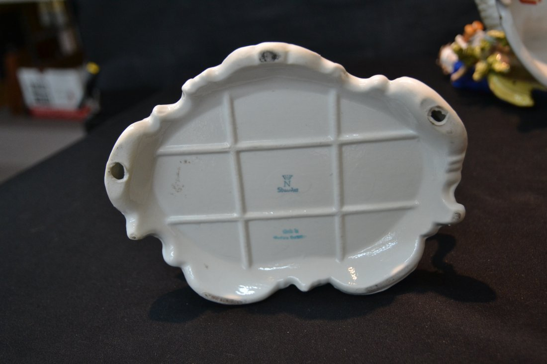 (3)pc's GERMAN PORCELAIN INCLUDING COURTING - 7