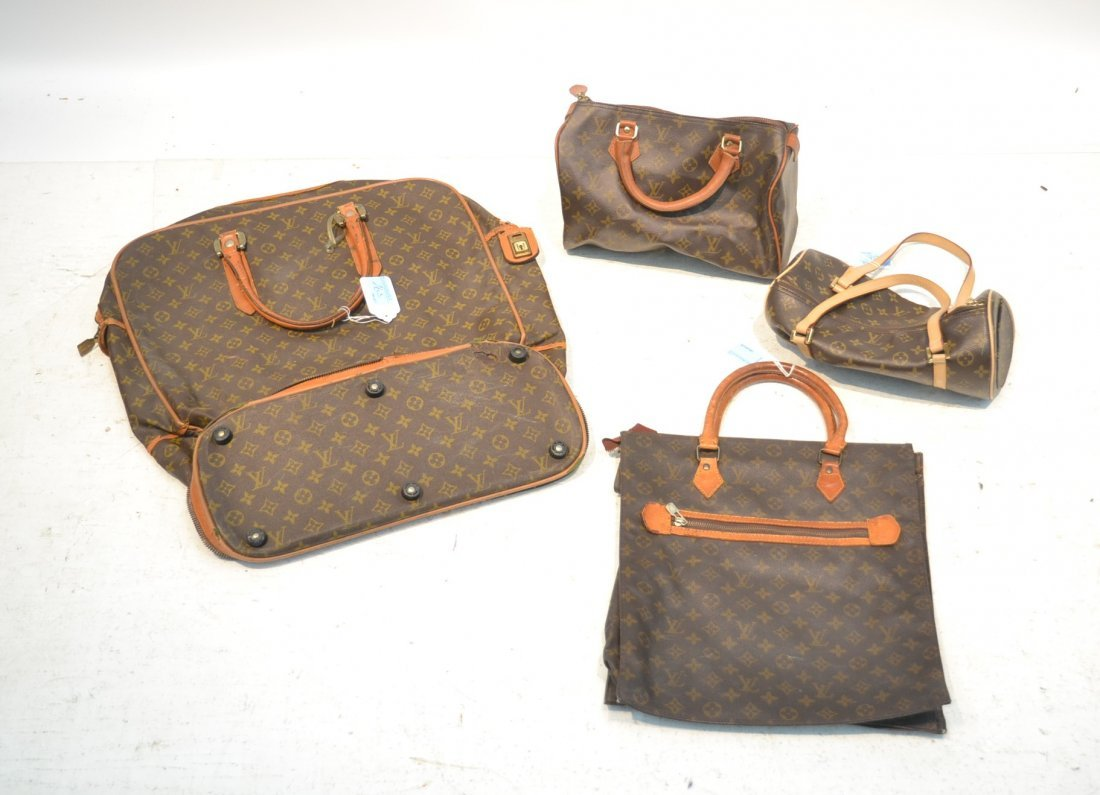 (4) LOUIS VUITTON ?  BAGS (AS FOUND)