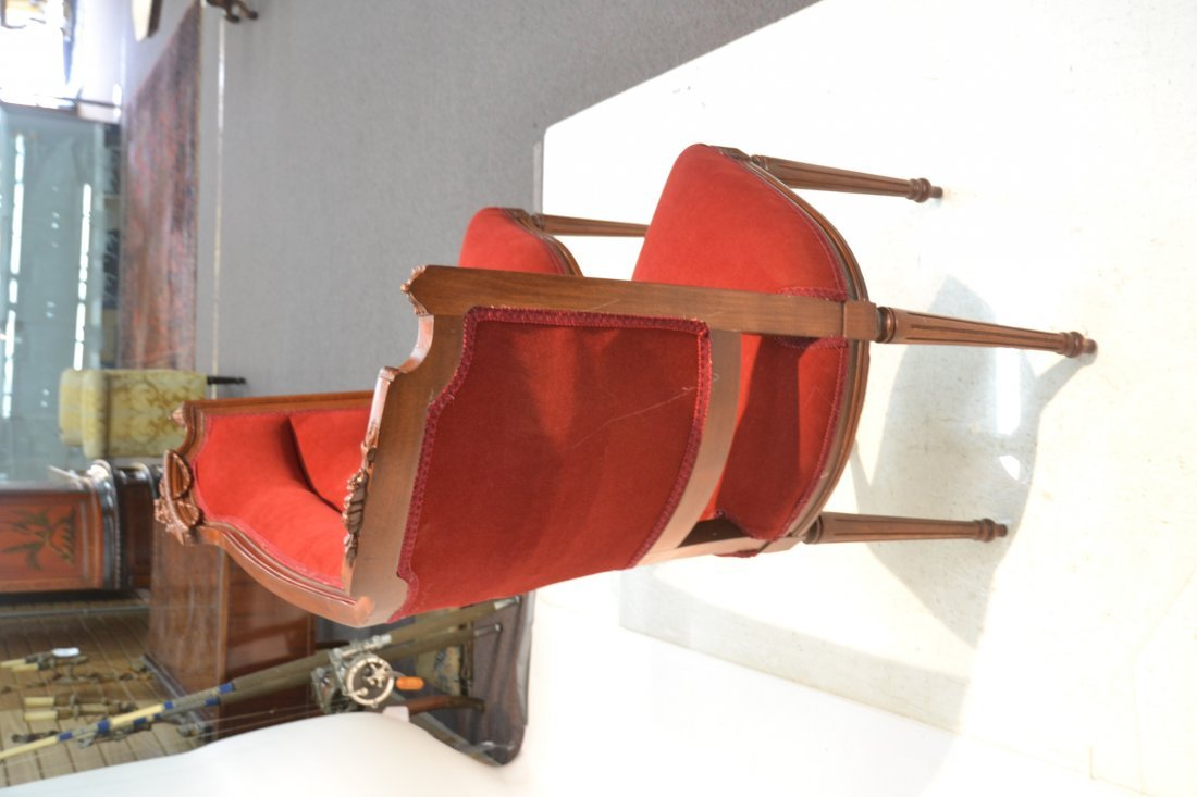 LXVI STYLE DUBLE CHAIR TETE A TETE WITH - 7
