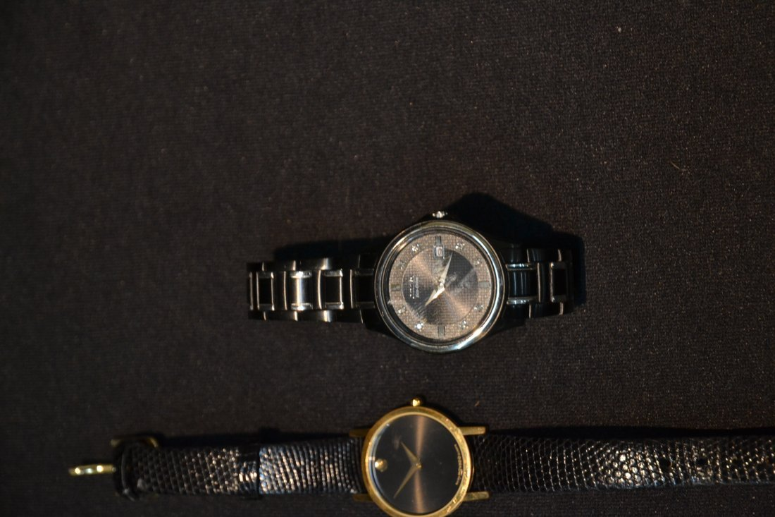 (3) WATCHES INCLUDING (2) MOVADO WITH DIAMONDS & - 5