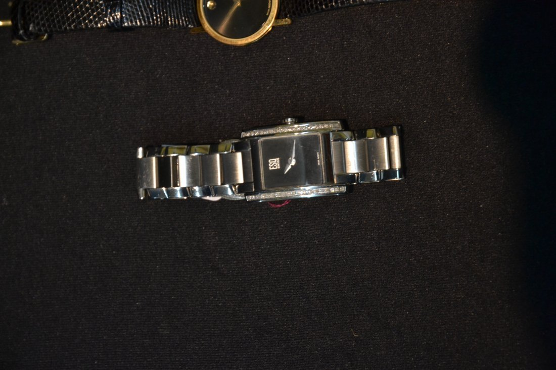 (3) WATCHES INCLUDING (2) MOVADO WITH DIAMONDS & - 6
