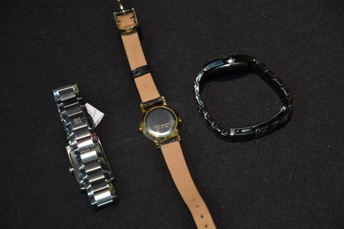 (3) WATCHES INCLUDING (2) MOVADO WITH DIAMONDS & - 9