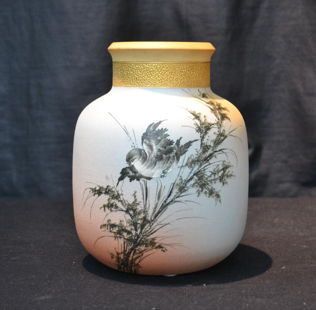 EARLY ALBERT VALENTIEN , ROOKWOOD OVOID VASE
