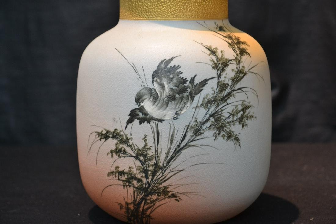 EARLY ALBERT VALENTIEN , ROOKWOOD OVOID VASE - 2