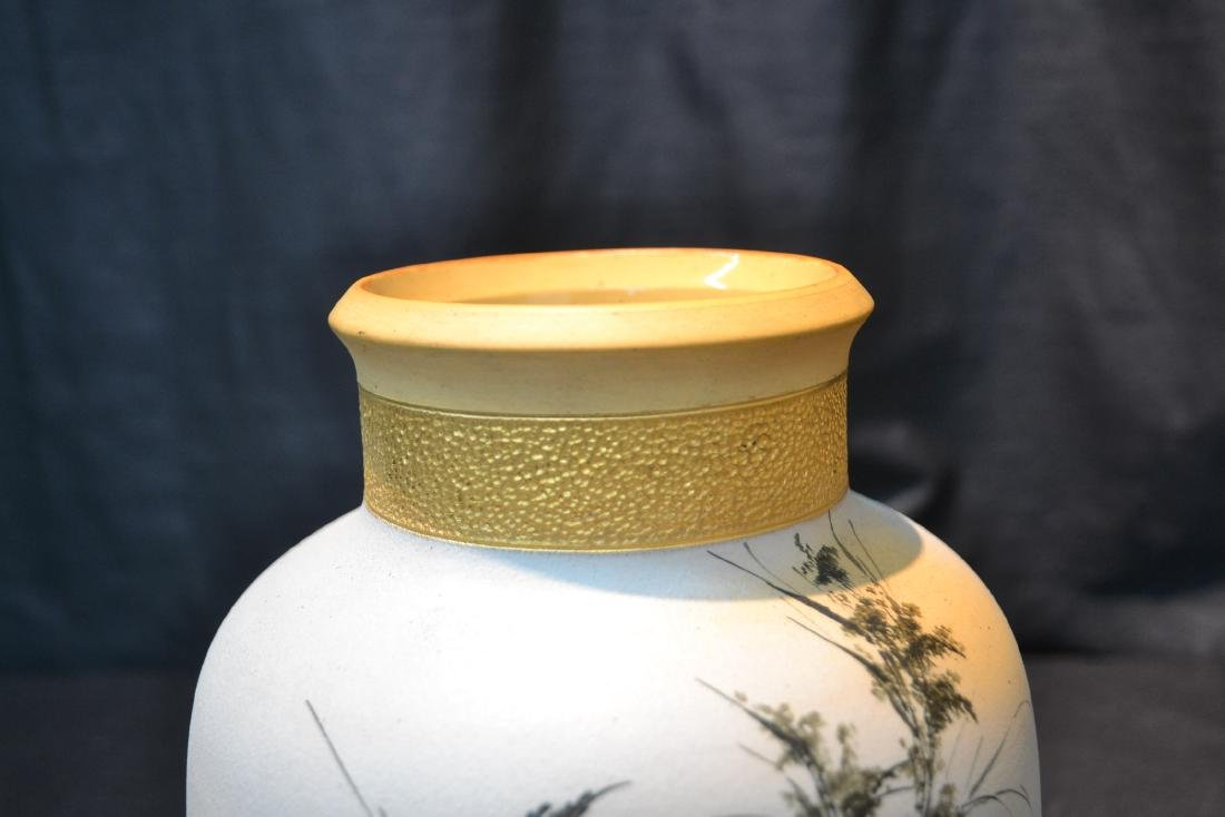 EARLY ALBERT VALENTIEN , ROOKWOOD OVOID VASE - 4