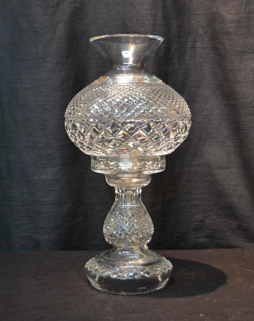 """WATERFORD CRYSTAL LAMP - 6 1/2"""" x 14 1/2"""""""