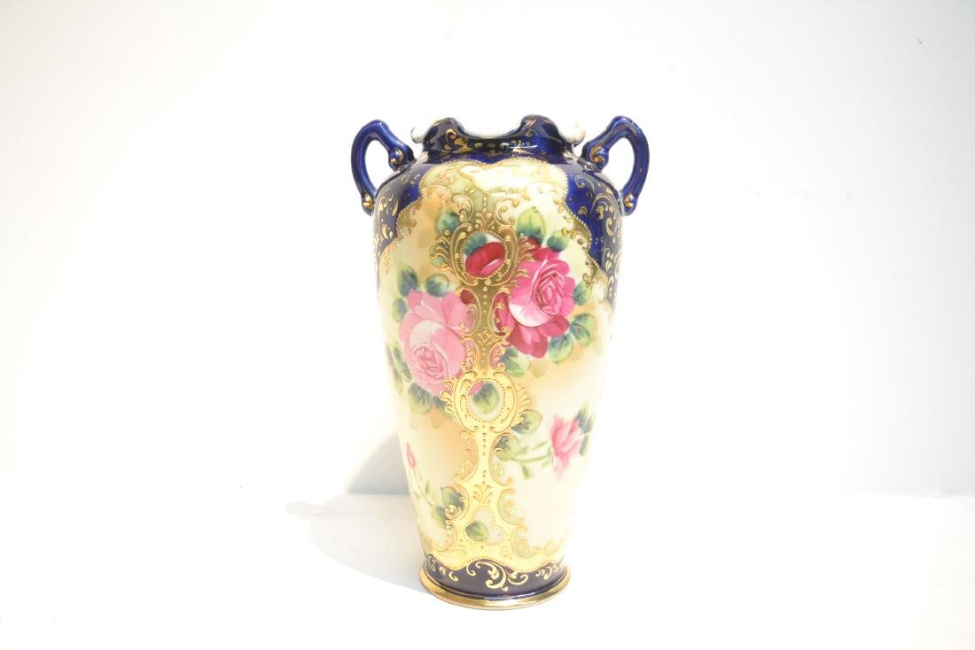 "UNSIGNED NIPPON VASE - 7"" x 11"" - 5"