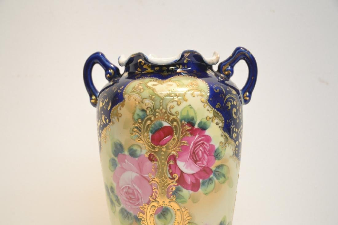 "UNSIGNED NIPPON VASE - 7"" x 11"" - 6"