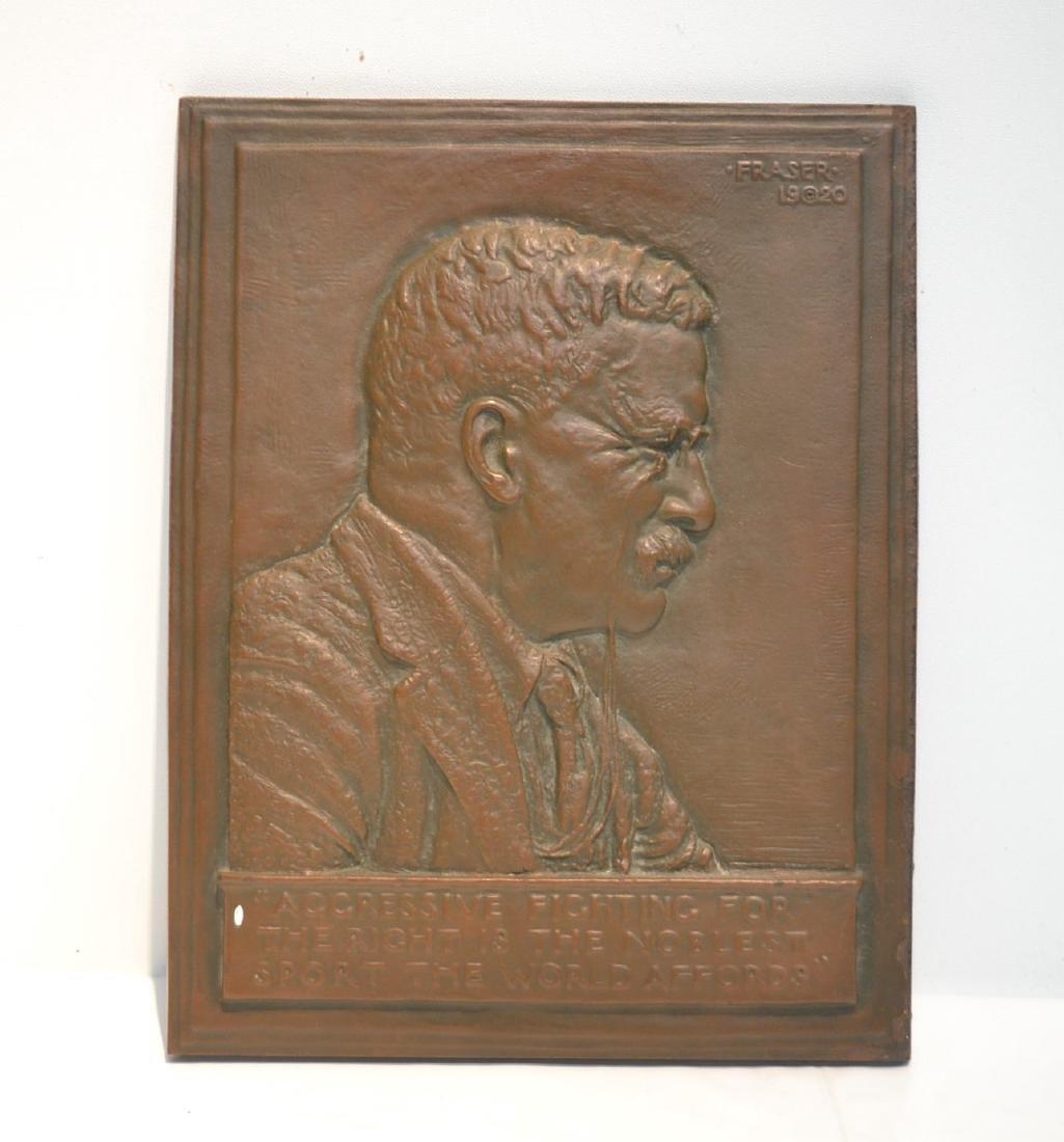 JAMES EARLE FRASER (AMERICAN , 1876-1953) BRONZE