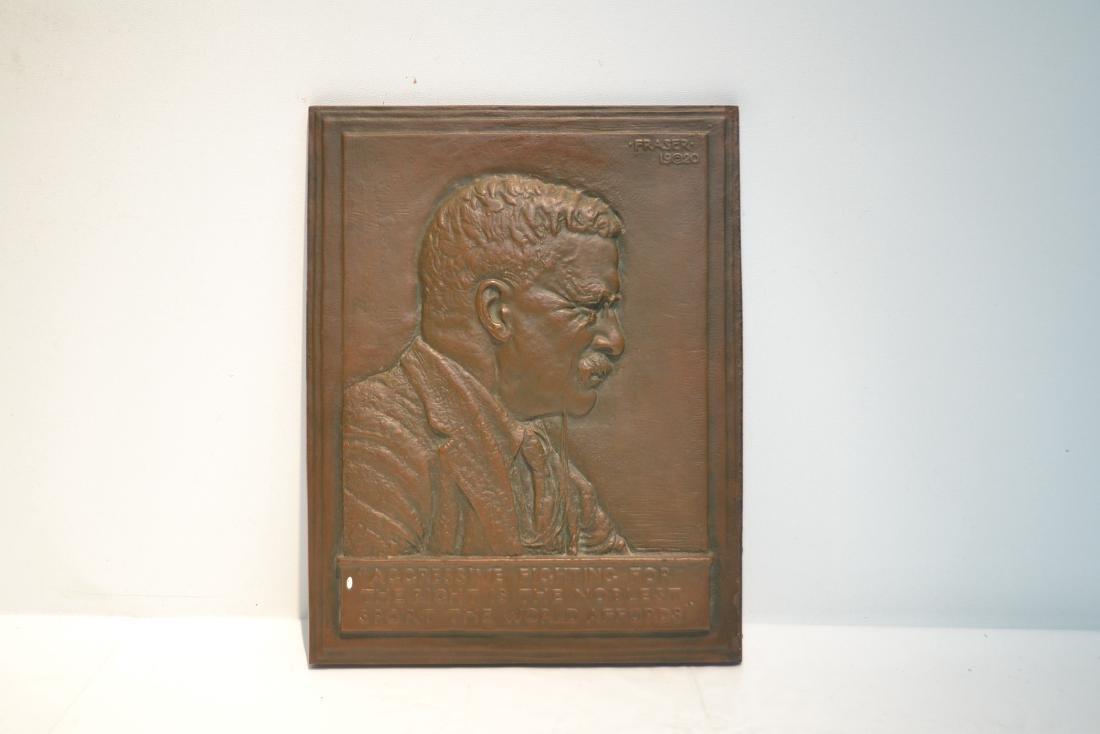 JAMES EARLE FRASER (AMERICAN , 1876-1953) BRONZE - 2