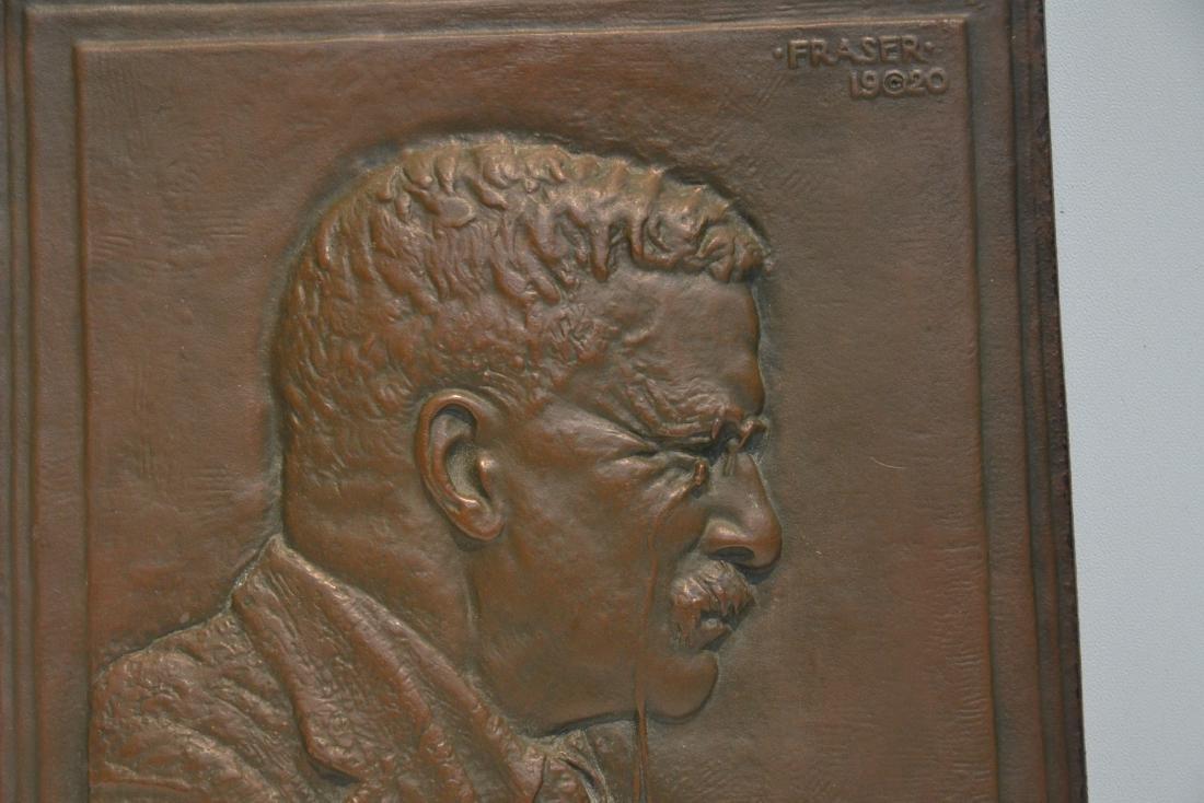JAMES EARLE FRASER (AMERICAN , 1876-1953) BRONZE - 3
