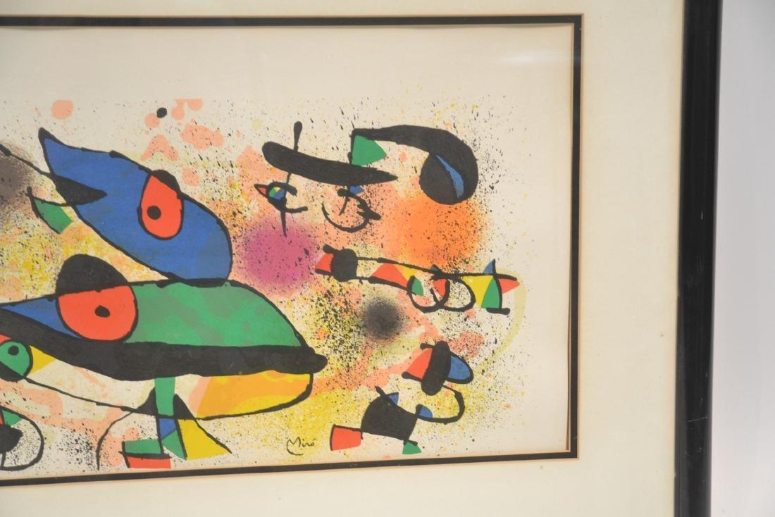 JOAN MIRO (1893-1983) ORIGINAL STONE LITHOGRAPH - 4