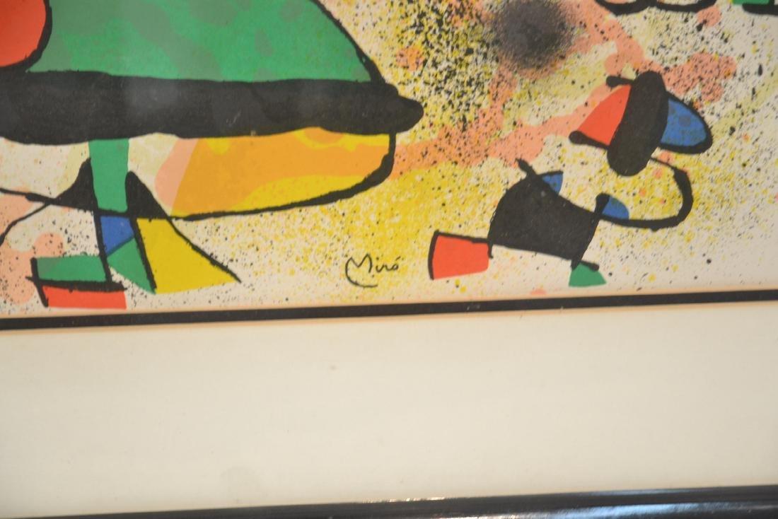 JOAN MIRO (1893-1983) ORIGINAL STONE LITHOGRAPH - 6