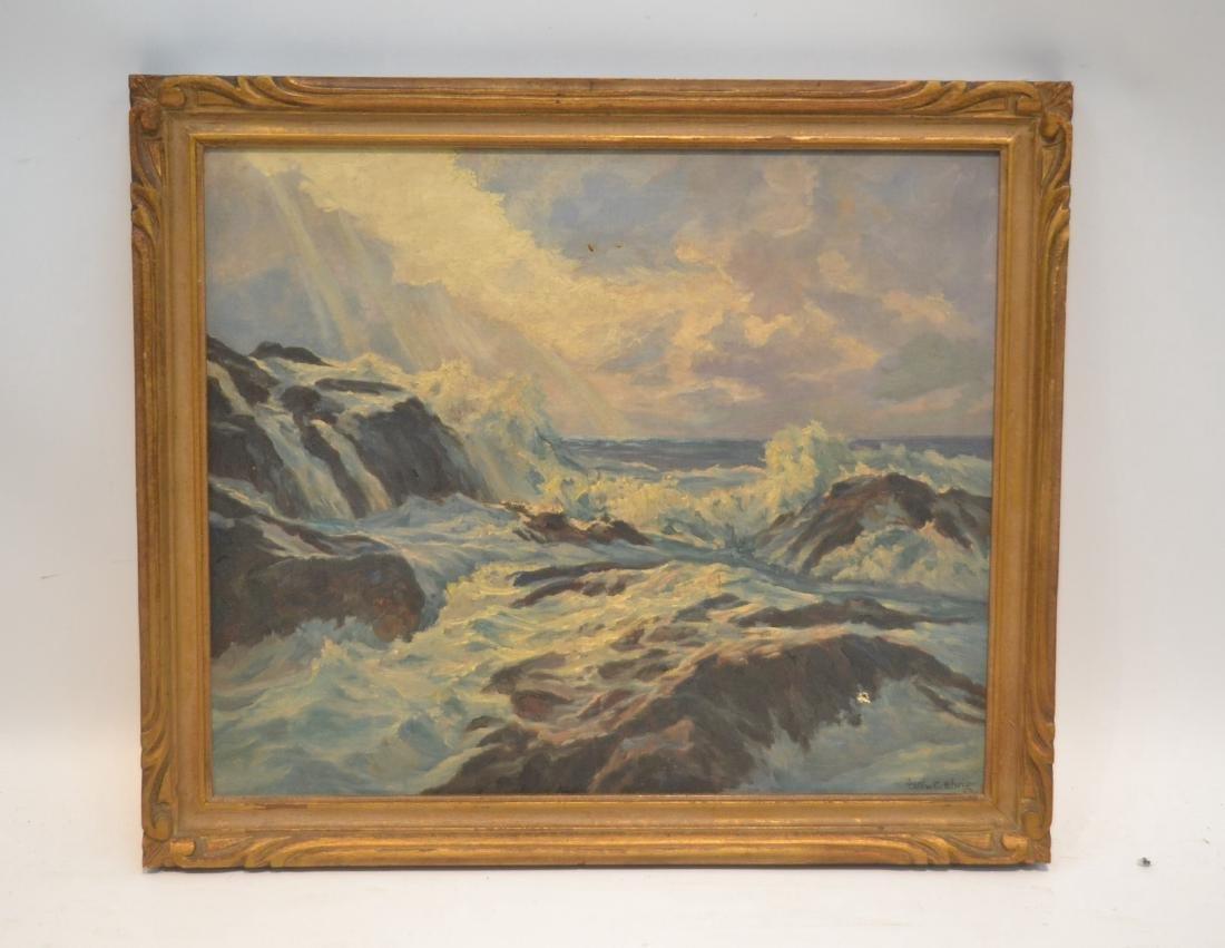 WILLIAM EHRIG (AMERICAN, 1892-1973) OIL ON BOARD