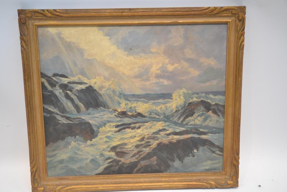 WILLIAM EHRIG (AMERICAN, 1892-1973) OIL ON BOARD - 2
