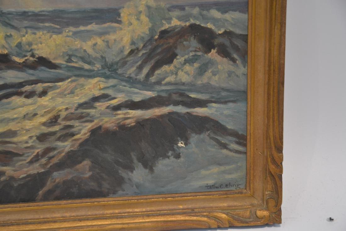 WILLIAM EHRIG (AMERICAN, 1892-1973) OIL ON BOARD - 4