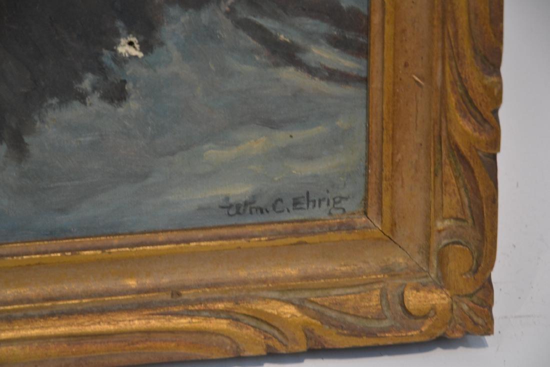 WILLIAM EHRIG (AMERICAN, 1892-1973) OIL ON BOARD - 5