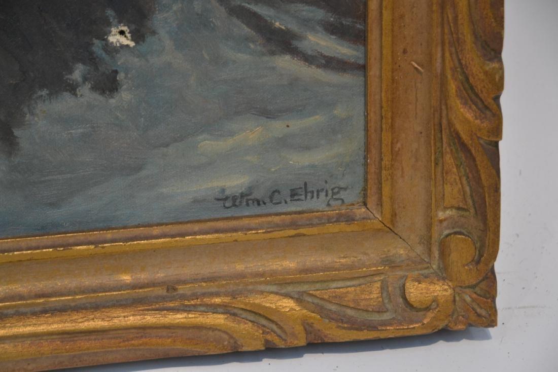 WILLIAM EHRIG (AMERICAN, 1892-1973) OIL ON BOARD - 6