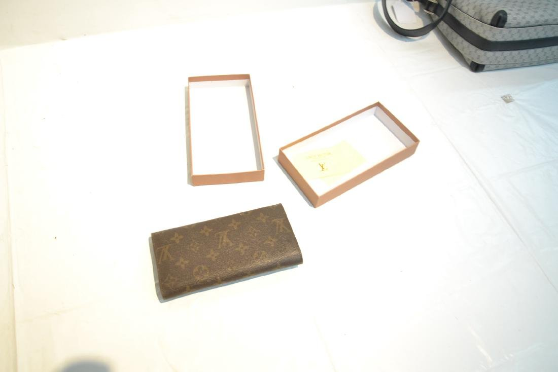 """LOUIS VUITTON WALLET WITH BOX - 7 1/4"""" x 4"""" - 7"""