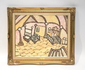 BRACHA TURNER (1925-2011) OIL ON BOARD