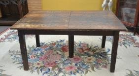 OAK ARTS & CRAFTS REFECTORY DINING TABLE