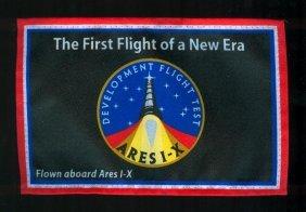 Ares 1-X Flown Flag