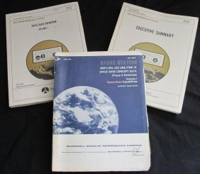 Three Early Space Base Concept & Definition Manuals