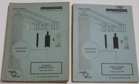 Two Titan III Contractor Training Manuals