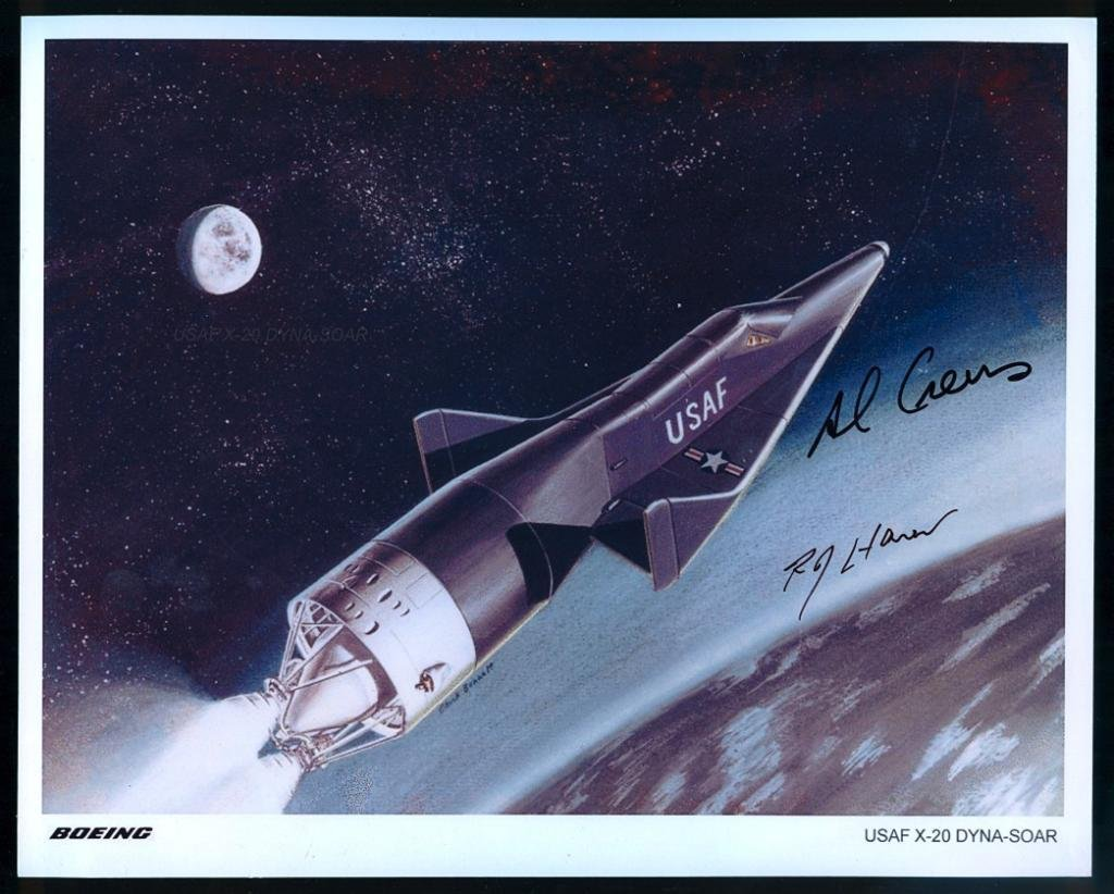 Al Crews Signed X-20 Photo and Cover