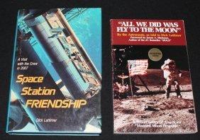 Two Dick Lattimer Signed Books
