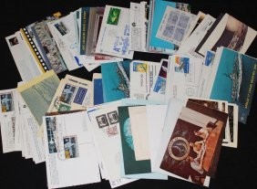 Large Group of Miscellaneous Postmarked Materials