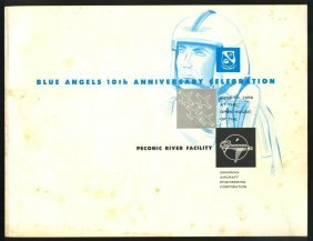 1956 Blue Angels Booklet