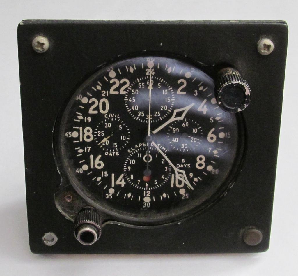 Gemini LC-19 Ground Elapsed Time Clock