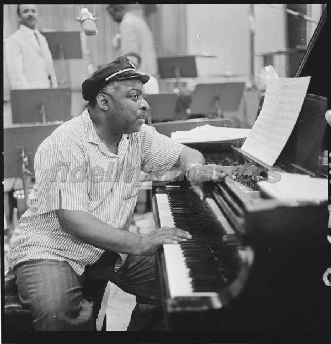 BURT GOLDBLATT ARCHIVE - COUNT BASIE