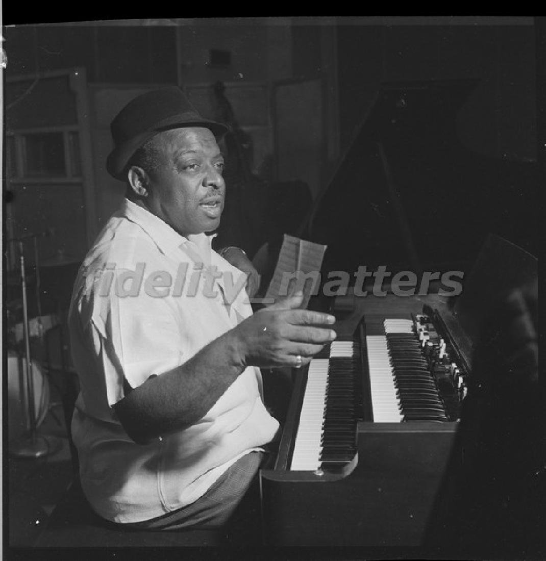 BURT GOLDBLATT ARCHIVE - COUNT BASIE - 2