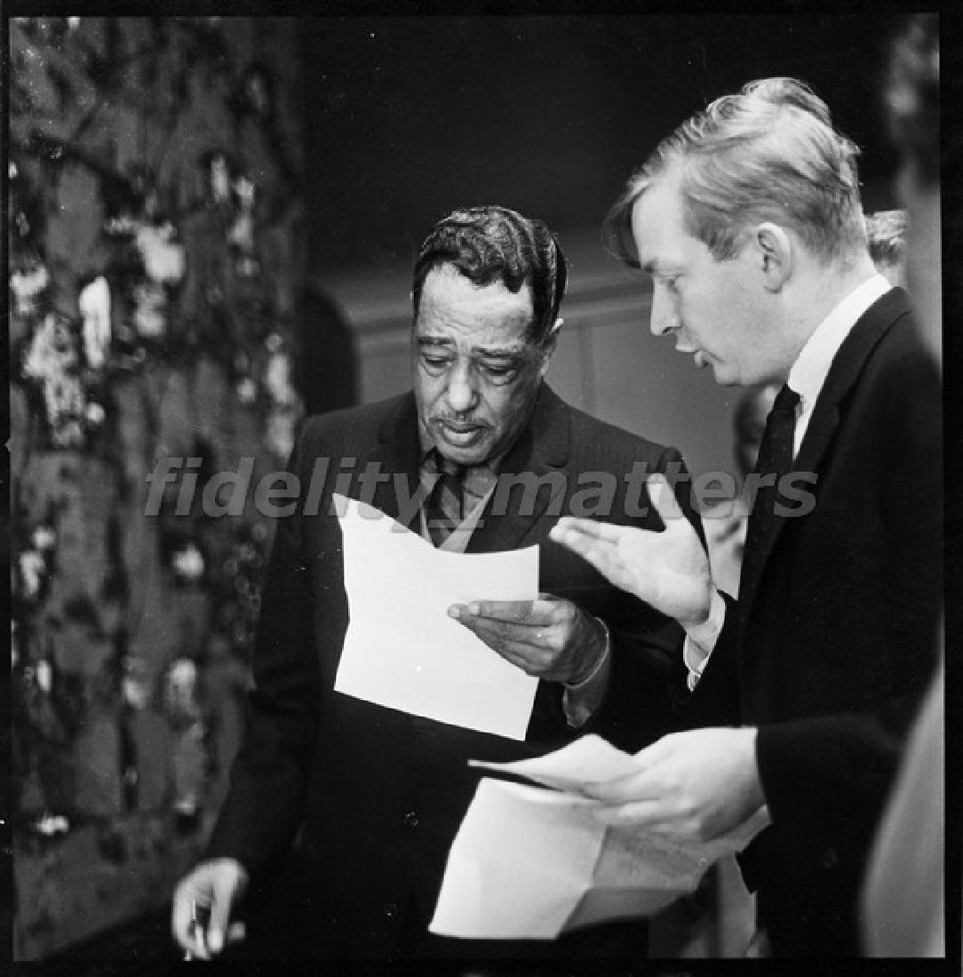 BURT GOLDBLATT ARCHIVE - DUKE ELLINGTON