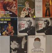 DAVID BOWIE  ITALIAN PICTURE SLEEVE 7