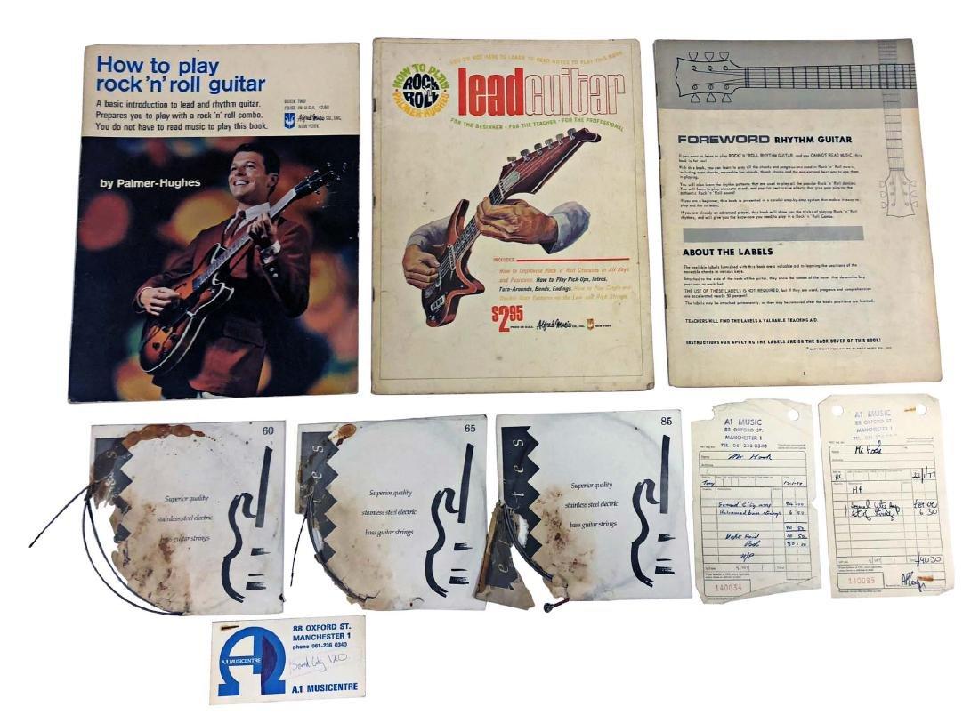 BASS GUITAR AMP RECEIPTS, BASS GUITAR STRINGS