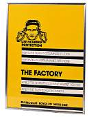 ORIGINAL THE FACTORY RUSSELL CLUB POSTER 1979