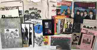 BEATLES BOOKS, MAGAZINES AND CALENDAR. Collection of