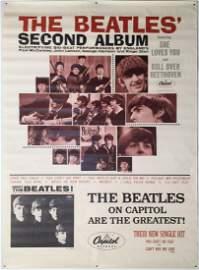THE BEATLES SECOND ALBUM ORIGINAL US PROMOTIONAL