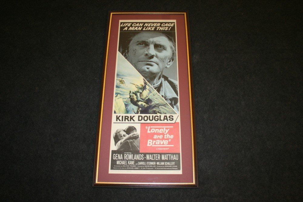 21: LONELY ARE THE BRAVE / KIRK DOUGLAS