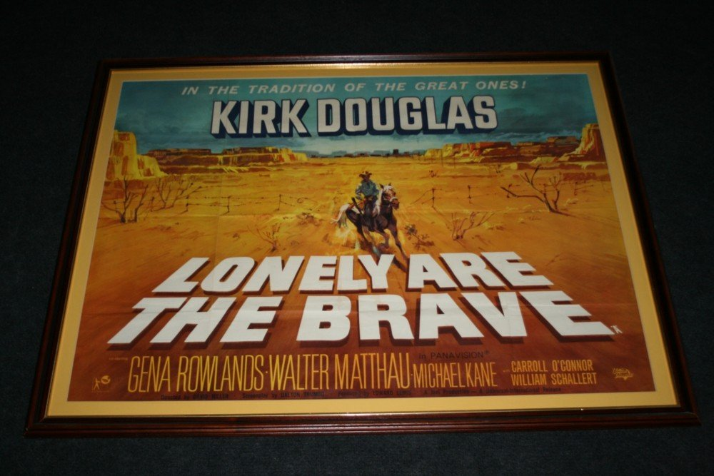 22: LONELY ARE THE BRAVE / KIRK DOUGLAS